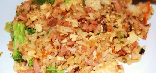 Egg and Garlic fried rice