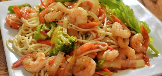 How to make shrimp stir fry