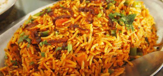 How to make vegetable Biryani