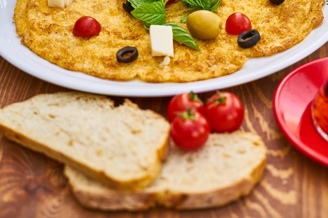 Breakfast ideas with Bread