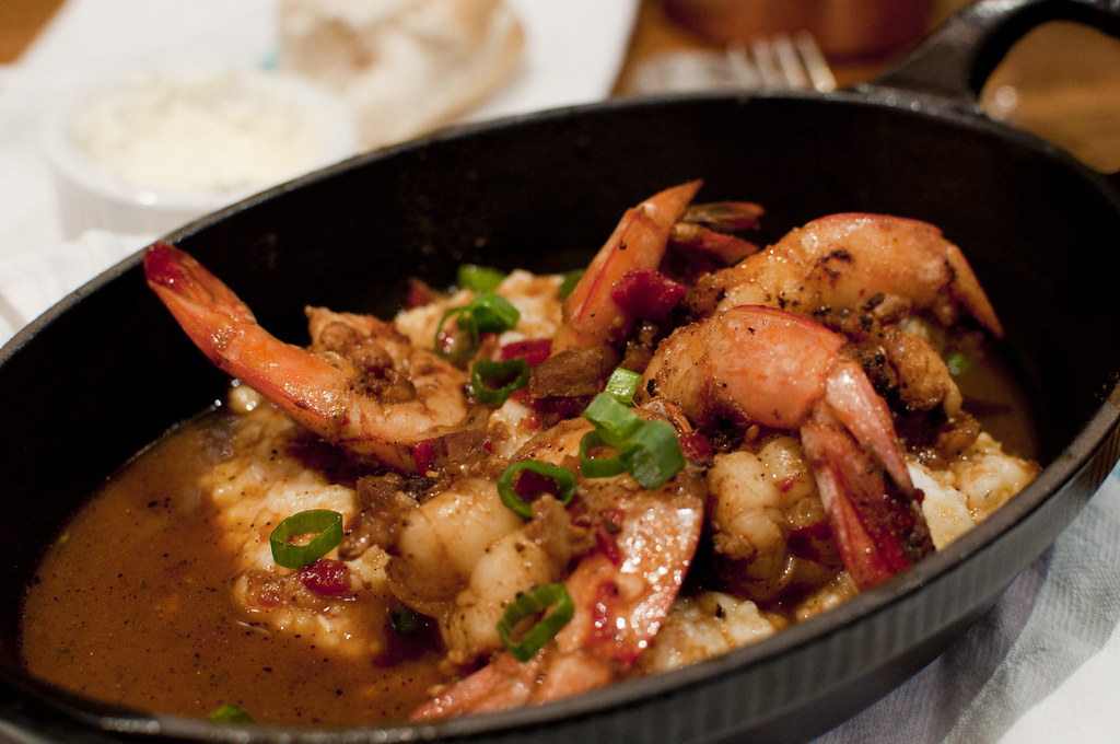 Recipe for girts and shrimps