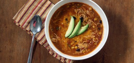 Chicken Enchiladas soup