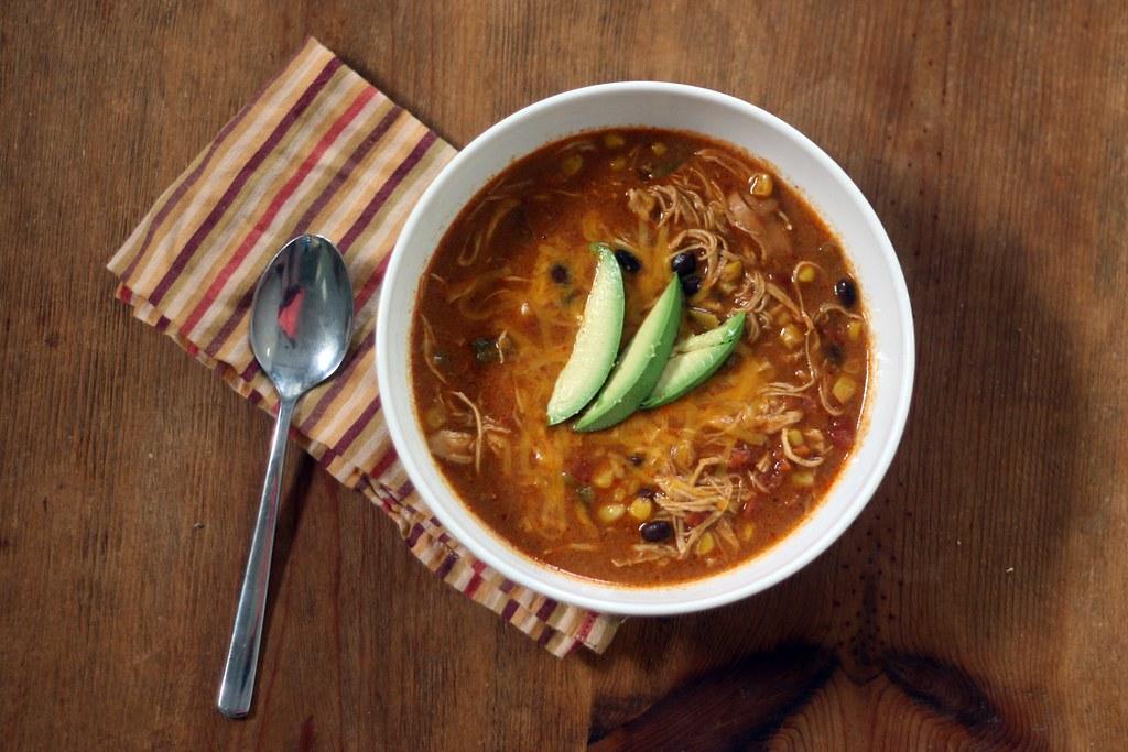 Chicken Enchiladas soup